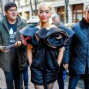 Rita Ora – Leaving 'Live With Kelly and Ryan' Show in NYC