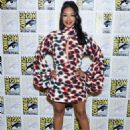 Candice Patton – 'The Flash' Press Line at Comic Con San Diego 2019 - 454 x 590