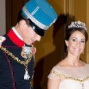 Prince Joachim and Marie Cavallier : New Year's reception 2015 - 454 x 775