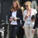 Prince William and Kate Middleton at the Olympics Day 3 Equestrian competition (July 30)