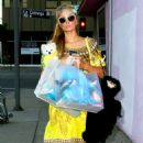 Paris Hilton Shopping At Trashy Lingerie In West Hollywood