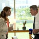 """SANDRA BULLOCK and TREAT WILLIAMS in Castle Rock Entertainment's and Village Roadshow Pictures' comedy """"Miss Congeniality 2: Armed and Fabulous,"""" distributed by Warner Bros. Pictures. Photo by Frank Masi, SMPSP - 454 x 303"""