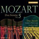 Wolfgang Amadeus Mozart - Duo Sonatas Vol. 5 (Duo Amade; violin: Catherine Mackintosh; fortepiano: Geoffrey Govier)