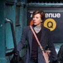 Scarlett Johansson – Filming new film in NY - 454 x 656