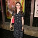 Lily Collins – Art Of Elysium's Pieces Of Heaven in Los Angeles