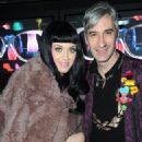 Katy Perry is a special guest at the Vogue Eyewear dinner party during Milan Woman Fashion Week - February 23, 2011