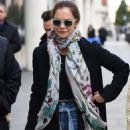 Ruth Wilson – Out and about in London