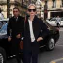 Laura Bailey – Arrives at the Ritz Hotel in Paris