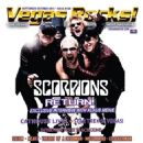 Rudolf Schenker, Klaus Meine, Matthias Jabs, James Kottak - Vegas Rocks Magazine Cover [United States] (October 2015)