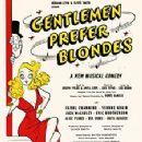 Gentlemen Prefer Blondes Original 1949 Broadway Cast Starring Carol Channing - 225 x 356