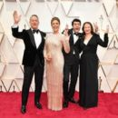 Tom Hanks, Rita Wilson, Truman Theodore Hanks, and Elizabeth Hanks At The 92nd Annual Academy Awards - Arrivals - 454 x 401