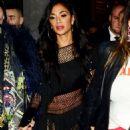 Nicole Scherzinger – Seen as she leaves Boulevard Theatre in London