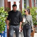 Ana De Armas & Ben Affleck – Out for lunch at the Brentwood Country Mart in Brentwood