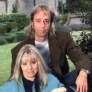 Dwina Murphy-Gibb and Robin Gibb