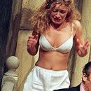 Natalie Walter in the play Noises Off