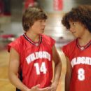 Zac Efron and Corbin Bleu in Walt Disney Pictures', High School Musical (TV) 2006. Directed by Kenny Ortega