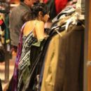 Vanessa Hudgens: does some shopping