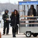 Priyanka Chopra – Filming 'Quantico' set in New York - 454 x 448