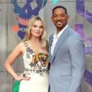 Margot Robbie and Will Smith - August 3, 2016- 'Suicide Squad' - European Premiere - Red Carpet Arrivals - 454 x 582