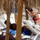 KHEDDING AROUND Sami Khedira spotted with bikini-clad Victoria's Secret beauty Adriana Lima on holiday in Mykonos as he gets over Euro 2016 heartbreak