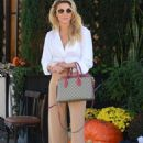Brandi Glanville at Il Pastaio in Beverly Hills