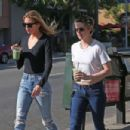 Kristen Stewart and Stella Maxwell out in LA - 454 x 303