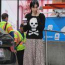 Krysten Ritter in Long Skirt with her boyfriend Adam Granduciel in LA - 454 x 681
