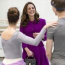 The Duchess Of Cambridge Visits The Royal Opera House - 410 x 600
