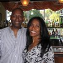 George Foreman's ex-wife Sharon Goodson with new fiancee TV Writer Tony Colvin