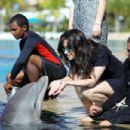Demi Lovato At Atlantis In Paradise Island, Bahamas, 2009-03-07