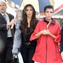 Kim And Kourtney Kardashian's Rainy Day Out