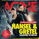 Jeremy Renner, Gemma Arterton - Acine Magazine Cover [Colombia] (January 2013)