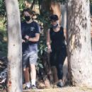 Reese Witherspoon – with her son Deacon while on a hiking session near their Palisades home