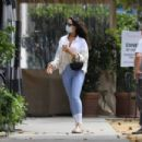 Eiza Gonzalez – Arriving at Angelini Osteria in Los Angeles