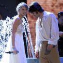 Justin Gaston and Taylor Swift
