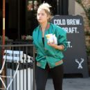 Ashley Benson in Tights – at Alfred's Coffee in West Hollywood 9/29/2016