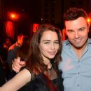 Emilia Clarke and Seth MacFarlane