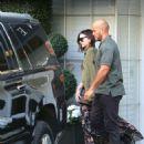 Miranda Kerr Leaving Epione Salon in Los Angeles - 454 x 585