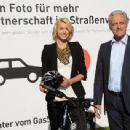"""Lena Gercke-""""runter Vom Gas!"""" Campaign In Berlin-26.10.2010"""