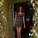 Jourdan Dunn in Mini Dress – Leaving the Ivy Chelsea in London - 454 x 571