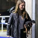 Melissa Benoist – Arrives Back Into Vancouver, 10/17/ 2016