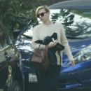 Scarlett Johansson Out and About In La