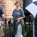 Sofia Vergara On The Set Of Modern Family In Beverly Hills