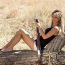 Paige Wyatt American Guns Terry Gardner Photoshoot - 454 x 300