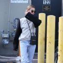 Hailey Bieber – Leaving the Honor Bar in Beverly Hills