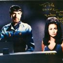 Barbara Luna & Leonard Nimoy on Star Trek