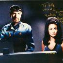 Barbara Luna & Leonard Nimoy on Star Trek