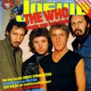 Kenney Jones, John Entwistle, Roger Daltrey, Pete Townshend - Joepie Magazine Cover [Belgium] (10 May 1981)