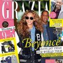 Jay Z, Beyoncé Knowles - Grazia Magazine Cover [South Africa] (27 April 2016)