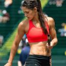 Celebrities with athletic build